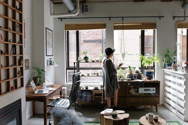interior of home decor shop