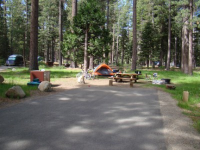 Tahoe campground
