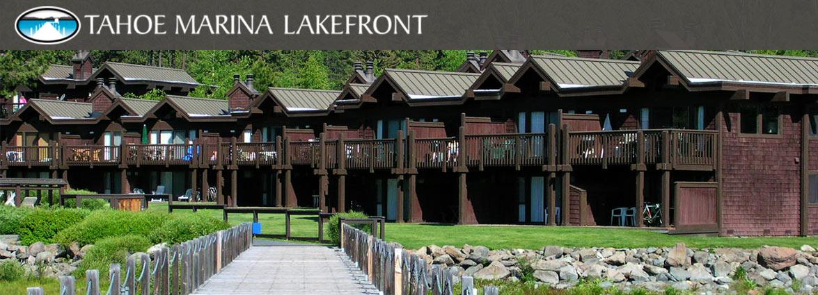 Tahoe Marina Lakefront