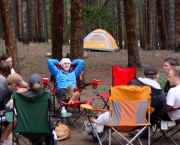 Truckee Camp Sites - Tahoe Donner Campground