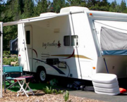 Truckee Camping - Tahoe Donner Campground