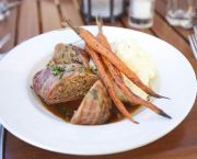Turkey and Shiitake Meatloaf - The Lodge Restaurant & Pub