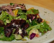 Asian Mixed Greens Salad - The Soule Domain