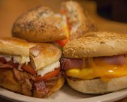Hot Breakfast Sandwiches - Wild Cherries Coffee House