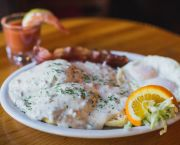 Buttermilk Biscuits & Country Gravy - Bridgetender Tavern & Grill