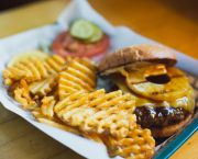 Hawaiian Teriyaki Burger - Bridgetender Tavern & Grill