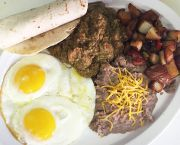 Brother's Famous Chili Verde Weekend Breakfast - Brother's Bar & Grill South Lake Tahoe