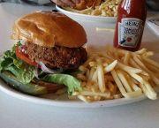 Jax Chicken Burger - Jax at the Trax