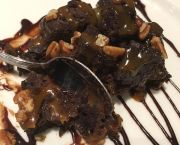 Chocolate Pecan Brownie - Casey's - An American Cantina