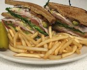 Turkey Club Sandwich - Heaven's Little Café