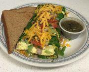 Veggie Omelette - Heaven's Little Café
