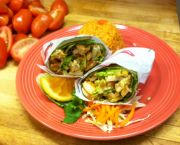 Chicken Burrito - The Blue Agave