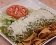 Wet Burrito - La Mexicana Meat Market & Taqueria