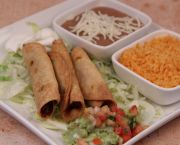 Taquitos - La Mexicana Meat Market & Taqueria