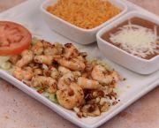 Camarones Al Mojo De Ajo - La Mexicana Meat Market & Taqueria