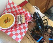 Lobster Bisque  - Morgan's Lobster Shack