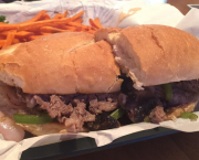 Philly Steak Sandwich - Mott Canyon Tavern & Grill