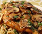 Chicken Marsala - Grand Central Pizza & Pasta