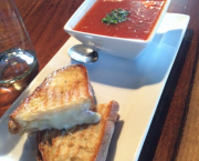 Tomato Soupa and Grilled Cheese - Petra