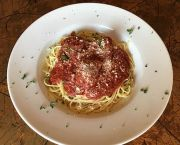 Spaghetti With Homemade Meatballs or Italian Sausage - Grand Central Pizza & Pasta