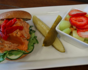 Smoked Trout Sandwich - Alder Creek Adventure Center + Cafe & Trailside Bar