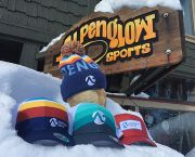 Alpenglow Logo Technical Truckers - Alpenglow Sports
