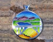 Donner Lake Truckee Pendant - Bluestone Jewelry & Wine