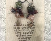 Handcrafted Earrings - Enchanted Florist