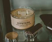Hipster Candle - Tahoe University