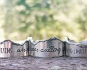 Mountains Are Calling Rings - GaiaLicious Boutique