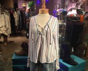 Women's Nautical Top - Camilas at Tahoe