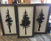 Laser Cut Wood Tree Wall Decor  - Mountain Home Center