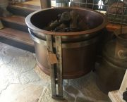 Chicago Fire Pit With Steelog Custom Logs - Lake Tahoe Specialty Stove & Fireplace