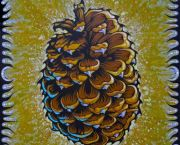 Jeffery Pine Cone - Benko Art Gallery