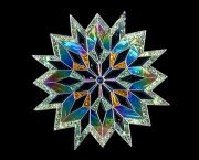 Stained Glass Snowflake / Starburst - JoAnne's Stained Glass & Gallery