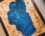 Lake Tahoe Topo Map - The Trunk Show