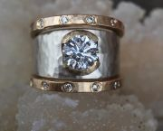 Diamond Ring With Gold/silver - Knack