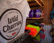 Wild Cherries Swag - Wild Cherries Coffee House
