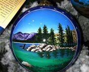 Glass Tahoe Ornaments - The Robin's Nest