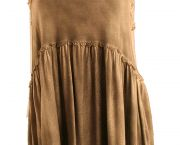 Babydoll Racerback Top With Back Zipper - Sidestreet Boutique