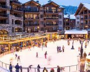 Ice Skating in the Village - Northstar California Resort
