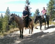 Guided Horseback Rides - Zephyr Cove Stables