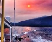 Sunset Private Fishing Charter From Zephyr Cove Resort - Tahoe Sport Fishing