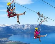 Blue Streak Zip Line - Heavenly Mountain Resort