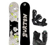 Children's Beginner/basic Snowboard Packages - Tahoe Dave's