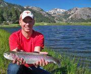 Fish on - Matt Heron Fly Fishing