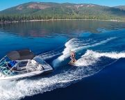 Wakesurfing Lake Tahoe - SWA Watersports