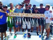 Tahoe Sport Fishing, Day on the Lake - August 25