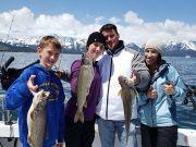 Tahoe Sport Fishing, Fishing Report - January 12