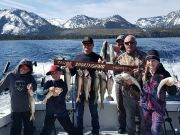 Tahoe Sport Fishing, Fishing Report - February 21